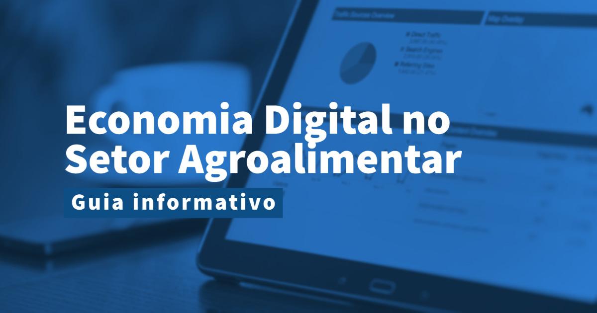 a economia digital no setor agroalimentar